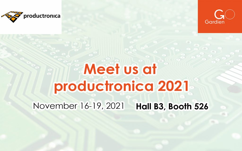 Gardien at Productronica 2021